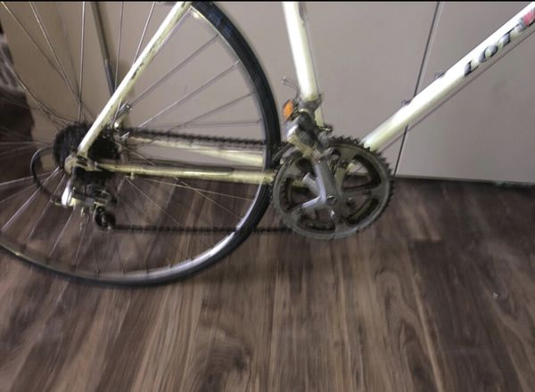 VINTAGE WHITE LOTUS EXCELLE BICYCLE