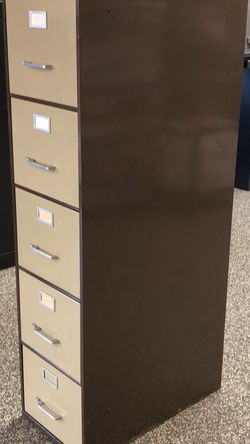 Five drawer filing cabinet for Sale in Beaverton,  OR