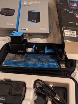 Gopro Hero 9 Black + Charger + 3 Batteries NEW for Sale in Orlando,  FL