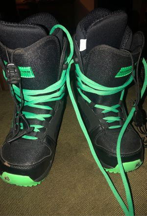 M3 Youth Snowboard boots Size 4 for Sale in Portage, MI