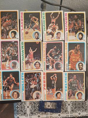 42-1978/79 NBA cards in mint condition for Sale in Federal Way, WA