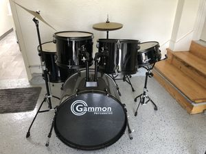 7pc Full Size Adult Drum Set for Sale in Millbrae, CA