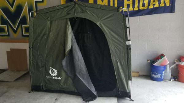 Yard storage tents