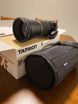 Nikon D mount Tamron SP AF200-500mm Telephoto Camera Lense for Sale in Kuna,  ID
