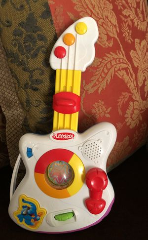 Collectible Playskool Rocktivity Jump 'N Jam Guitar Toy for sale. for Sale in Austin, TX