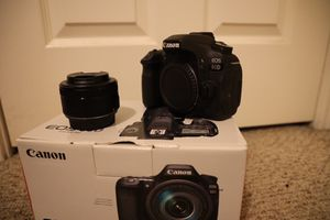 Canon 80D with 50mm for Sale in Humble, TX