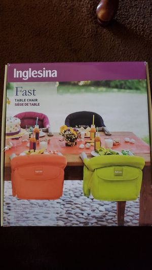 Inglesina Fast Kids Table Chair for Sale in Gardena, CA