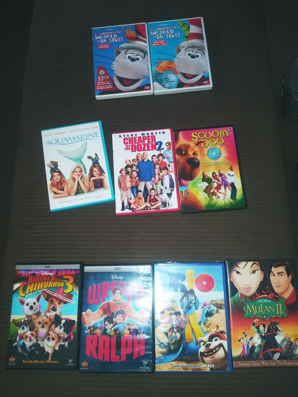 Disney and family dvds