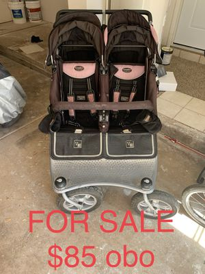 Double jogging stroller for Sale in Young, AZ