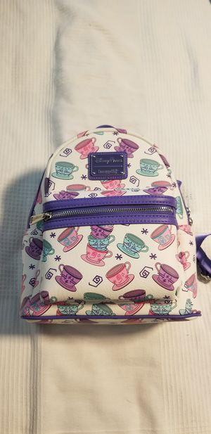 NEW Alice in wonderland Loungefly backpack disney for Sale in Bay Lake, FL