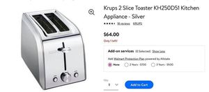 New in Box. Krups 2 Slice Toaster for Sale in Avon, OH