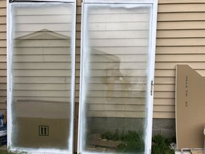 Free Aluminum door , fireplace door for Sale in Hilliard, OH