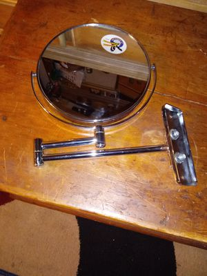 double sided magnifying wall mount mirror for Sale in Kissimmee, FL