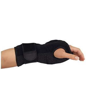 Mueller Night Support Wrist Brace, Black, One Size Fits Most | Wrist Brace for Sleeping for Sale in San Diego, CA