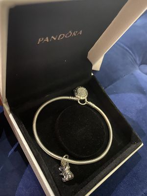 Pandora bracelet with charm for Sale in Addison, IL