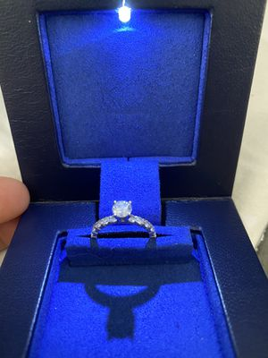 Like New Engagement Ring and Brand New Wedding Band for Sale in Plano, TX