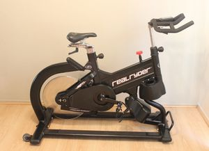 RealRyder ABF8 Commercial Grade Spin Bike Cycle Trainer Exercise Bicycle Workout Stationary Cycling for Sale in San Dimas, CA