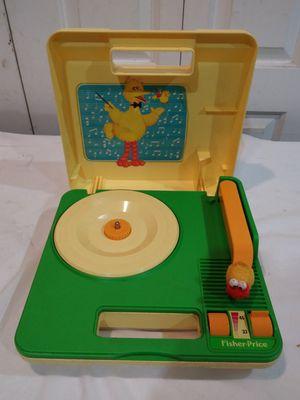 Vintage 1983 Sesame Street Big Bird Record Player for Sale in Riverdale, GA