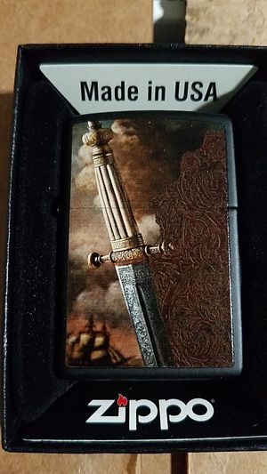 Zippo sword of war black matte 28305 for Sale in Los Angeles, CA