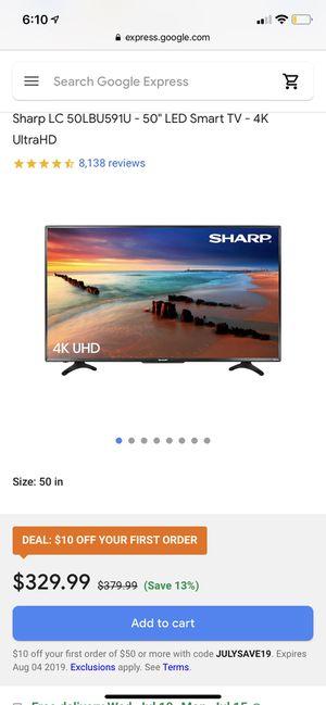 50 Inch Smart TV (Roku) for Sale in Dallas, TX