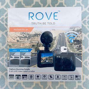 Rove R2-4K Dash Cam Built in WiFi GPS Car Dashboard Camera Recorder for Sale in Denver, CO