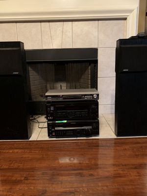 Bose stereo+ Polk audio surround sound with sub for Sale in Round Rock, TX