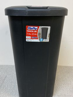 Hefty Touch Lid 13.3 Gallon Garbage Can for Sale in North Haven,  CT