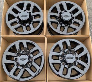 "18"" Chevy Silverado factory wheels rims gloss black new for Sale in Santa Ana, CA"