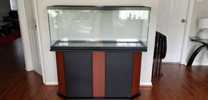 Brand new 55 gallon complete aquarium set with 2 tone Aquon waterproof base with free delivery/setup for Sale in Houston, TX