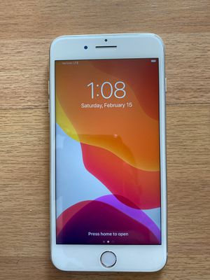 White Unlocked iPhone 8 Plus 64 GB for Sale in Cypress, CA