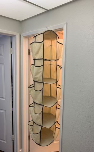 5 tier hanging closet organizer for Sale in Norwalk, CA