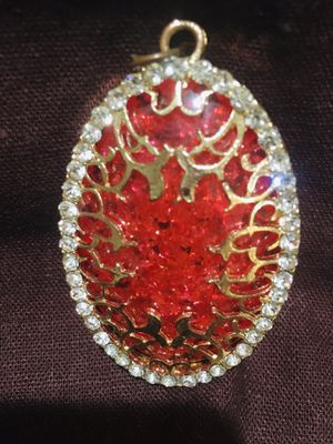 Vintage 1970's Large Amber Pendant for Sale in Maryville, TN