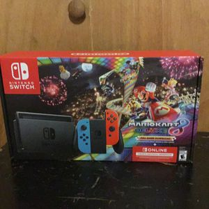 Mario kart deluxe 8+ full game download +3 months individual membership More in description Sell or trade for Sale in Pompano Beach, FL