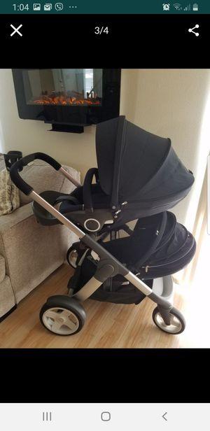 Stokke Crusi Double Stroller - Black for Sale in Auburn, WA
