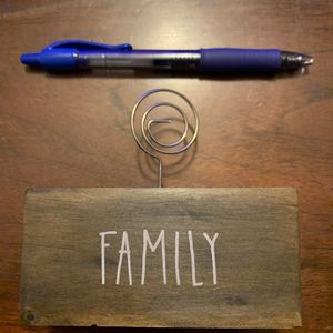 Family Photo Holder for Sale in Columbus, GA