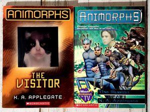 ANIMORPHS Lot of 2 Books by K.A. Applegate The Visitors #2, 33 Scholastic for Sale in Harrisonburg, VA