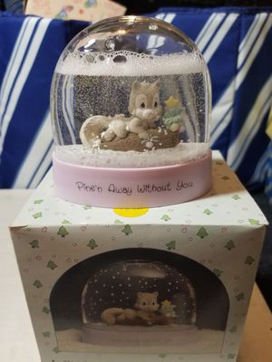 """Precious Moments """"Pine N away Without You"""" Snow Globe! Flawless! for Sale in Dallas, GA"""