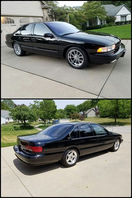 1 Owner Chevrolet Impala SS Clear