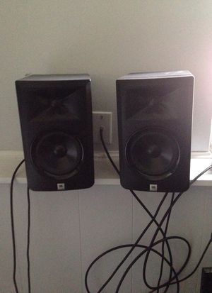 Jbl monitor speakers for Sale in Charlotte, NC