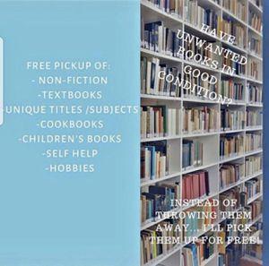 Free Book pickup for Sale in Marietta, GA