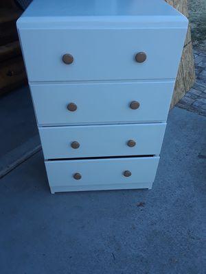 Mini white dresser for Sale in Tracy, CA