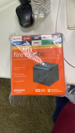 Amazon fire tv cube for Sale in Fontana, CA