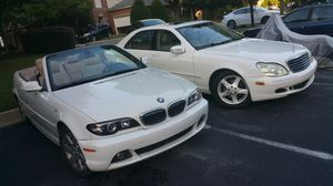 Bmw 3 series convertible & Mercedes S class package deal for Sale in Atlanta, GA