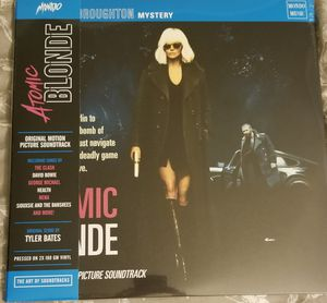 Atomic Blonde Vinyl Soundtrack (Clear with Pink) for Sale in Daly City, CA