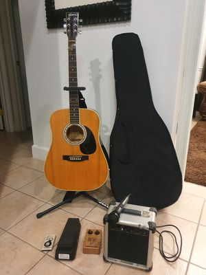 Guitar and accessories for Sale in Ocala, FL