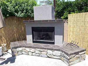 Bbq island Outdoor Fireplace Firepits backyard grill frames DIY Bar man cave barbecue chimney asador Isla bara cocina pergola lattice alumawood led for Sale in Riverside, CA