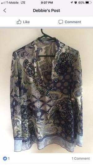 Hale' Bob Women's Sheer Tunic for Sale in Chantilly, VA