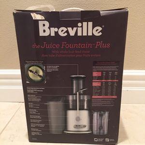 Breville Juice Fountain Plus for Sale in Fresno, CA
