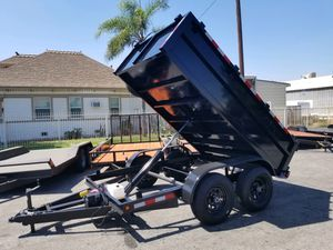 8x10x2 Dump Trailer BUY FACTORY DIRECT for Sale in Palmdale, CA