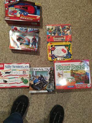 6 brand new toys cheap for Sale in Wilmington, MA